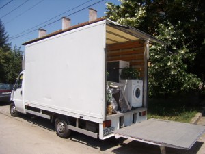 Преместване на имущество София-Варна-София