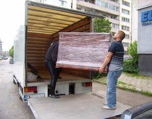 Хамалски услуги и транспорт в София - цени на час