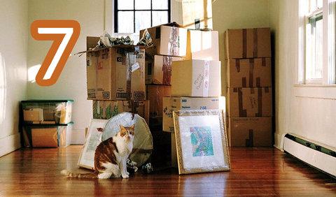 Седем безценни съвета за преместване в нов дом