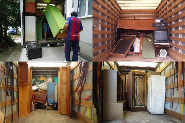 основно почистване на жилища в София от стари мебели и битови отпадъци