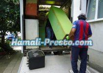 помощ при извозване и изхвърляне на стари мебели в София
