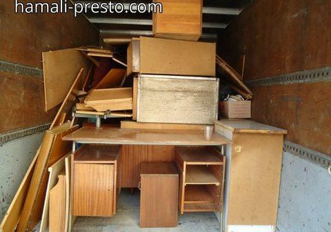 Изхвърляне на стари мебели София